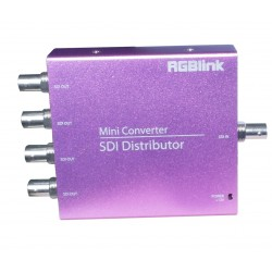 MSP219-4 - Distributeur 1 SDI In / 4 SDI Out - RGB Link