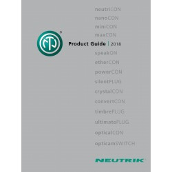 Catalogue Neutrik 2018