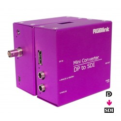 MSP210D - Convertisseur Display Port vers SDI avec Scan Converter & Scaler - RGB Link