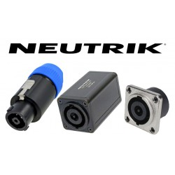 Connecteurs SPEAKON 8 contacts NEUTRIK